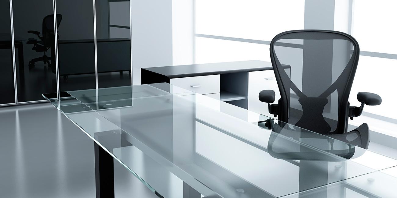 Mesas de cristal