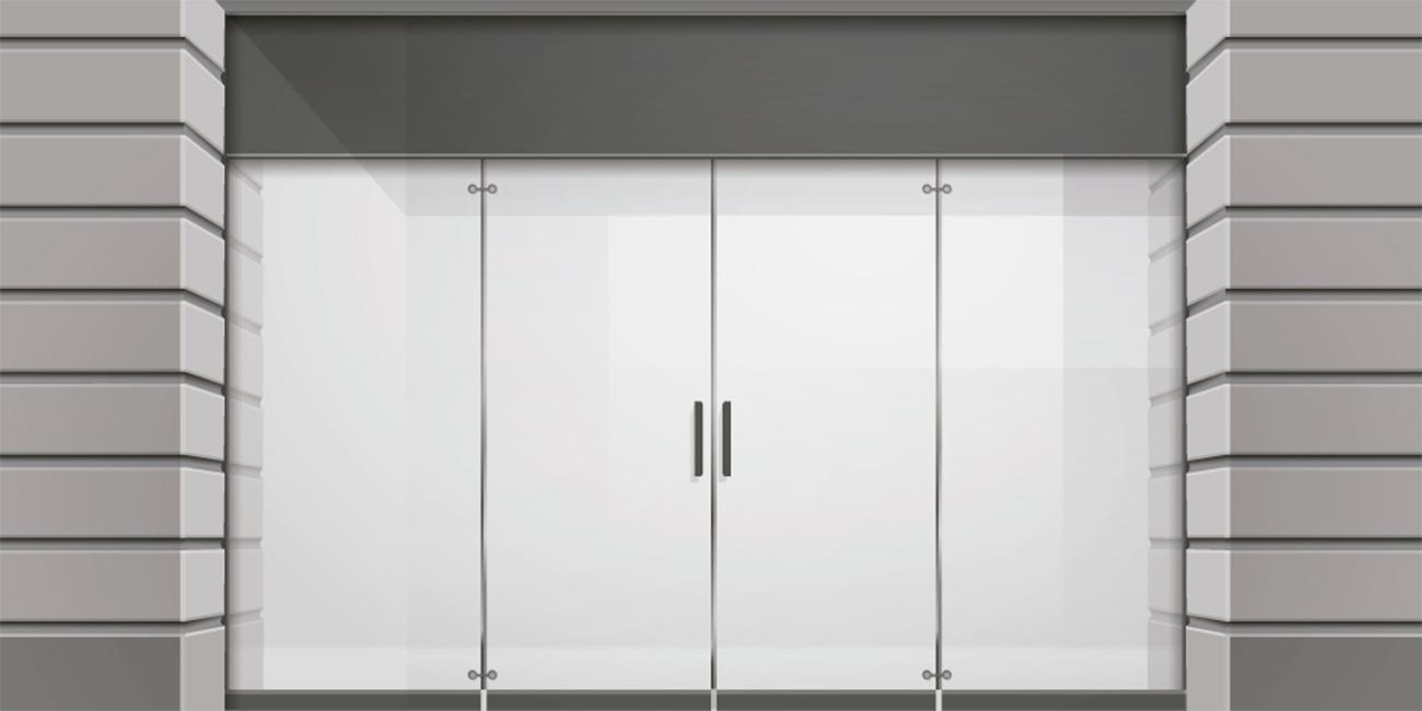 Puertas de cristal for Puertas de cristal para entrada principal